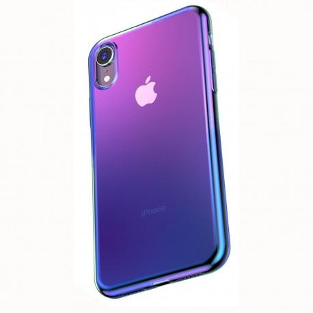 Silicone case for IPhone XR Baseus Glow Case Transparent WIAPIPH61-XG01