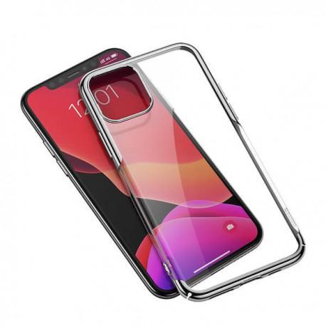 Silicone case for iPhone 11 Pro Baseus Shining Case Transperant