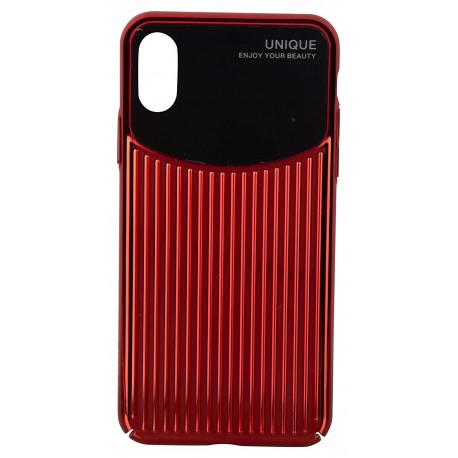 Silicone case for iPhone XR USAMS IPXRMJ02 Black/Red