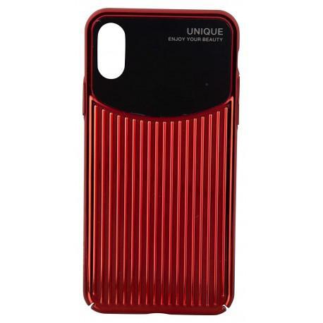 Силиконов гръб за iPhone XR USAMS IPXRMJ02 Black/Red