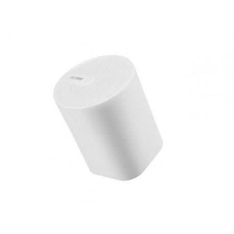 Portable white wireless speaker ACME SP109W