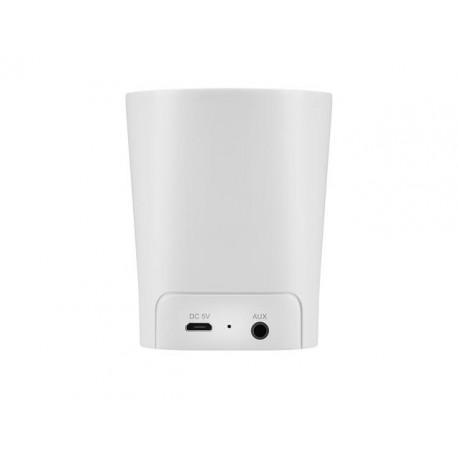 Portable white wireless speaker ACME SP109W - 5