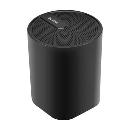 Portable black wireless speaker ACME SP109