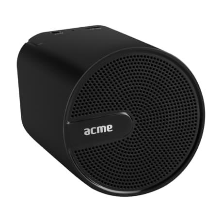 Portable black wireless speaker ACME SP109 - 2