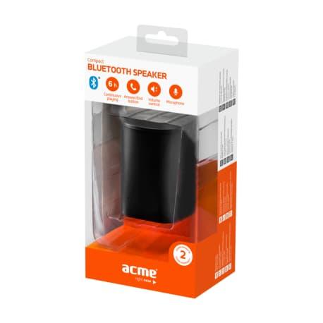 Portable black wireless speaker ACME SP109 - 8