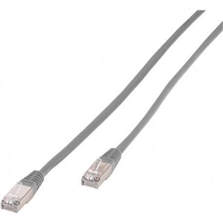 Network cable RJ-45, Vivanco 20247, 30m, gray