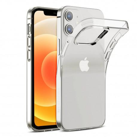 Silicone case for IPhone 12 transparent