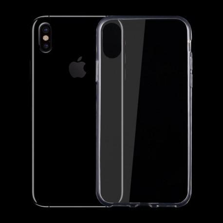 Силиконов гръб за iPhone XS Max прозрачен - 4