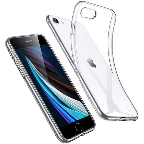 Silicone case for iPhone SE 2020 transparent