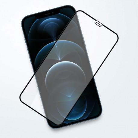 Стъклен протектор с черна рамка за Apple iPhone 12/12 Pro