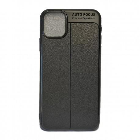 Калъф i-Zore Leather Effect Apple iPhone 11 Pro /черен/