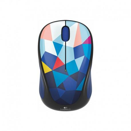 Мишка Logitech Wireless mouse M238 Play Collection - Blue Facets