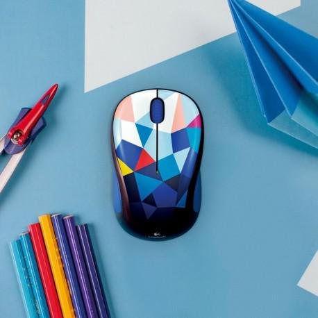 Мишка Logitech Wireless mouse M238 Play Collection - Blue Facets - 3