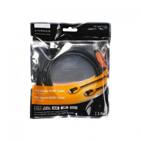 Vivanco High Speed HDMI кабел с Ethernet дължина 2м - 2