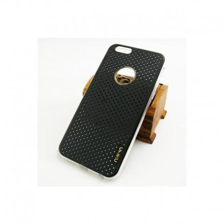 Луксозен калъф UMKU SIMPLE за IPhone 6, Твърд, Черен - 2