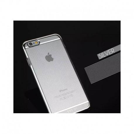 Калъф Ensida за IPhone 6, 6s, Твърд силикон, Сив