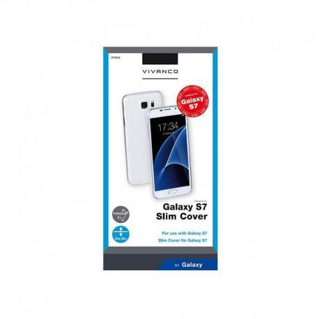 Калъф Vivanco за SAMSUNG Galaxy S7 МАТ, Твърд, Прозрачен - 3