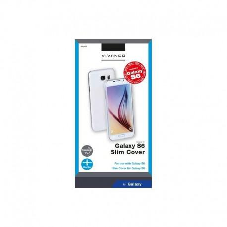 Калъф Vivanco за SAMSUNG Galaxy S6 МАТ, Твърд, Прозрачен