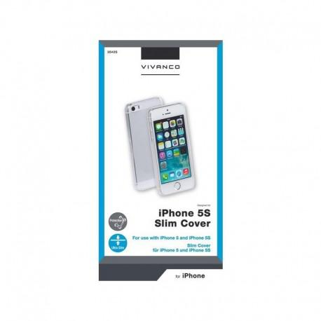Калъф Vivanco за IPhone 5, 5s, SE МАТ, Твърд, Прозрачен - 3
