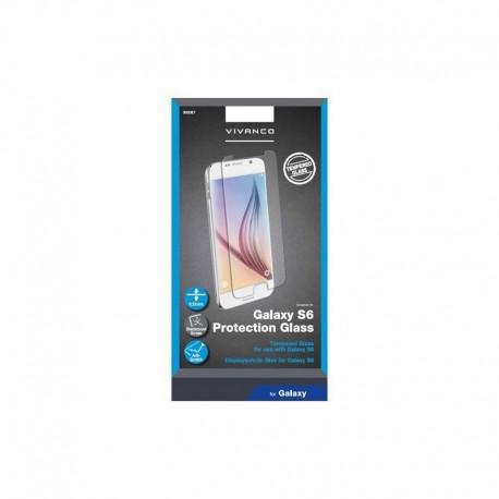 Протектор за екран Vivanco от закалено стъкло за SAMSUNG Galaxy S6 - 2
