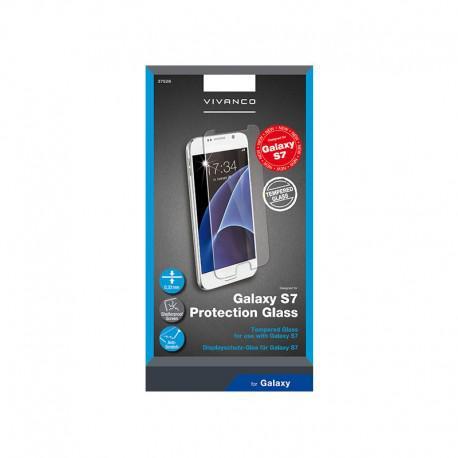 Протектор за екран Vivanco от закалено стъкло за SAMSUNG Galaxy S7 - 2