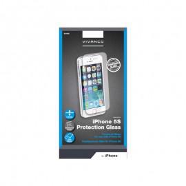 Протектор за екран Vivanco от закалено стъкло за Apple iPhone 5/5S