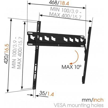 TV стойка с наклон Vogel's MA3010 - 2