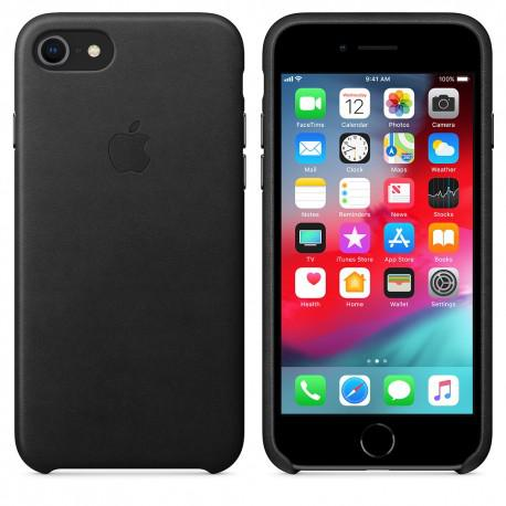 Apple iPhone 7 Leather Case Black (MMY52ZM/A) - 3