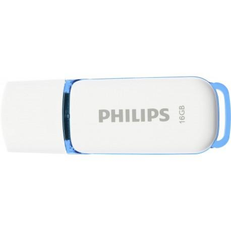 Флаш памет Philips 16GB Snow Edition USB 2.0 - 3