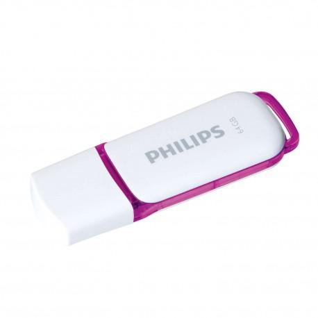 Флаш памет Philips 64GB Snow Edition USB 2.0