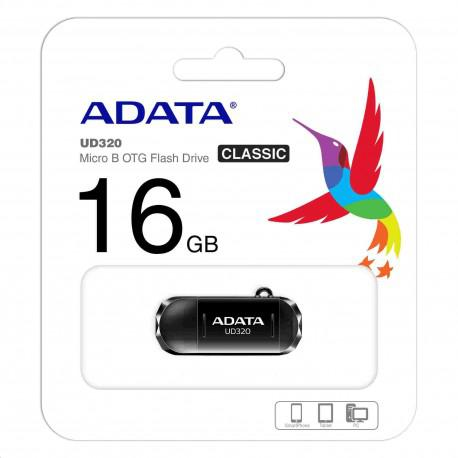 Флаш памет ADATA UD320 Micro B OTG 16GB USB 2.0 - 4
