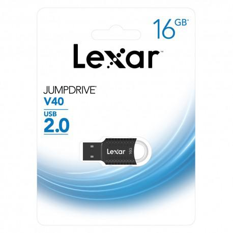 Флаш памет LEXAR 16GB JumpDrive V40 USB 2.0 - 5