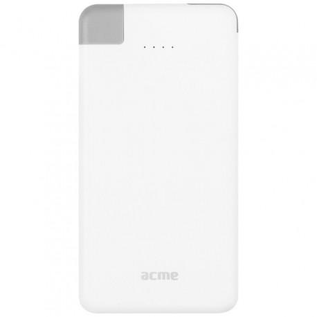 Power Bank ACME PB08, 4000mAh, USB, MicroUSB, Lightning