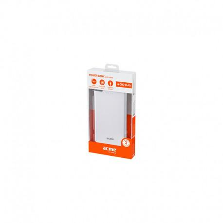 Power Bank ACME PB08, 4000mAh, USB, MicroUSB, Lightning - 4