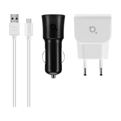 Universal charger kit ACME CH13, 2x1A, 100-240V, 12V/24V - 2
