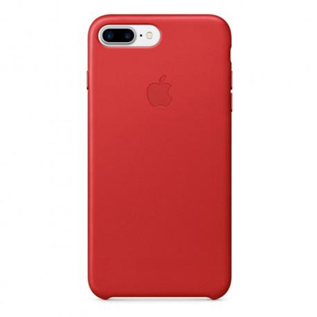 Apple iPhone 7 Plus Leather Case Red (MMYK2ZM/A) - 2
