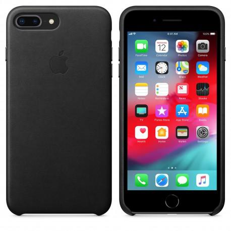 Apple iPhone 7 Plus Leather Case Black (MMYJ2ZM/A)
