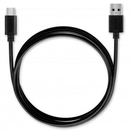 Кабел ACME CB1041, Type-C, USB, 1m, Черен - 2