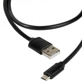 Кабел Vivanco 36251, MicroUSB, USB, 1.2m, Черен
