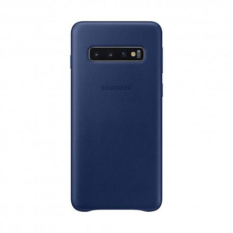 Оригинален кожен гръб за SAMSUNG Galaxy S10 (EF-VG973) - 2