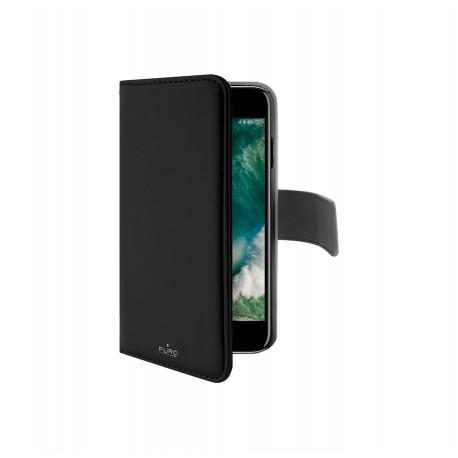 Кожен калъф/портфейл на PURO за iPhone 7/8 Plus с магнитно заключване - 2