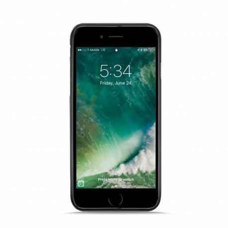 Силиконов сив гръб на PURO за iPhone 7/8 Plus - 2