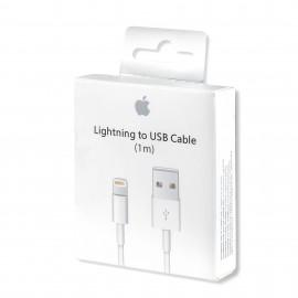 Original Apple cable (MD818ZM/A), Lightning, USB, 1.0m, White