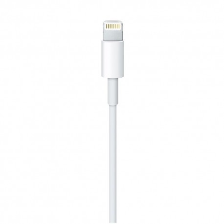 Original Apple cable (MD818ZM/A), Lightning, USB, 1.0m, White - 2