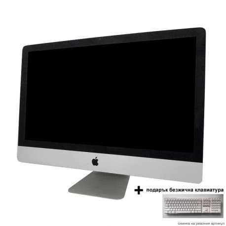 iMac A1312 (MC814LL/A) + подарък Apple Wireless Keyboard A1016