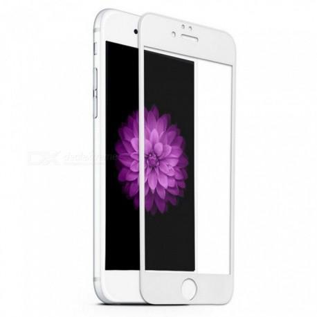 Протектор за екран ROFI от закалено стъкло с бяла рамка за Apple iPhone 6 Plus