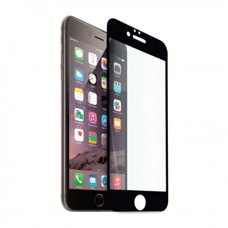 Протектор за екран ROFI от закалено стъкло с черна рамка за Apple iPhone 6S Plus